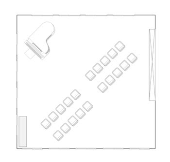 くつろぎ・交流スペース2 配置図