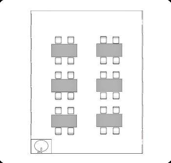 学び・芸術ルーム2 配置図