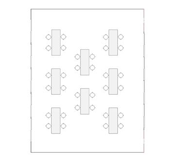 学び・交流ルーム1 配置図
