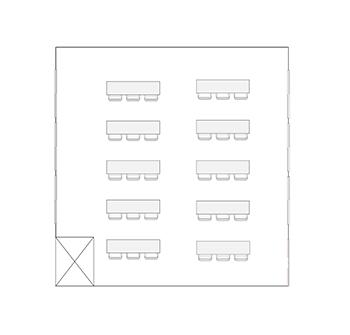 学び・交流ルーム3 配置図