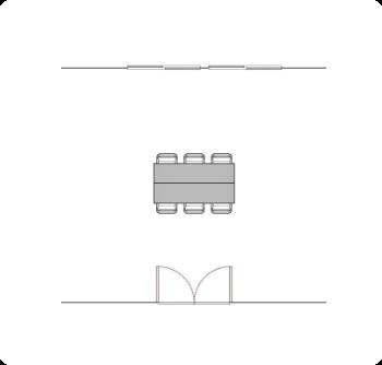 学び・交流ルーム4 配置図